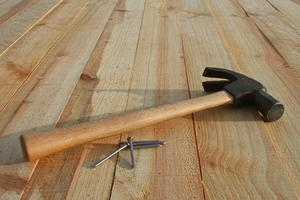 ремонт пола дачного дома