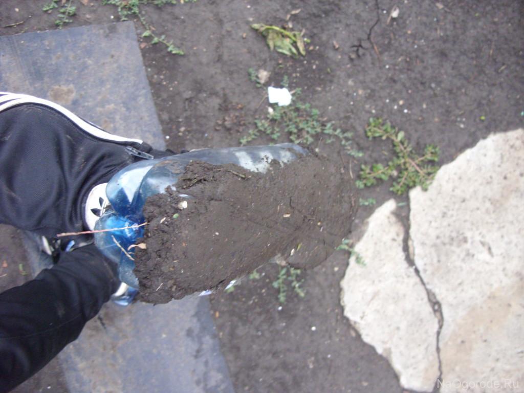 но грязь прилипает к колошам